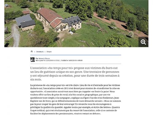 Article dans «Le Figaro» – 21 mars 2019