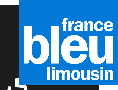Passage en radio sur « France Bleu Limousin », le 12 avril 2019