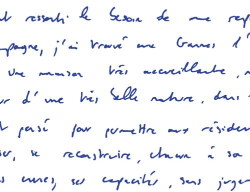 Pierre-Antoine, passé à 'Au temps pour toi'
